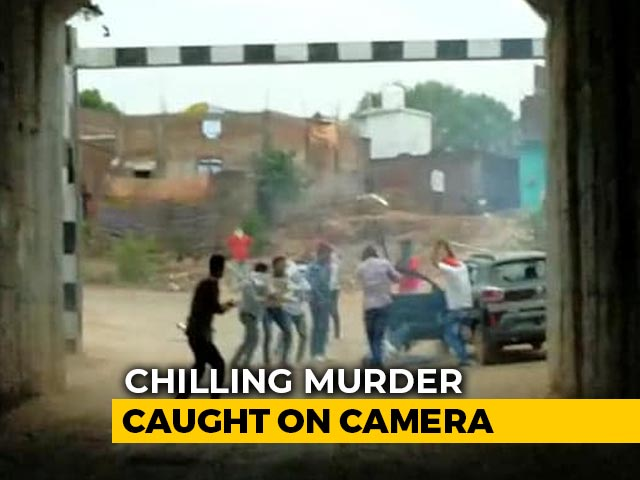 Video : Madhya Pradesh Cow Vigilante Killed, Chilling Murder Caught On Camera