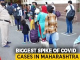 Video : Maharashtra Records Highest Single-Day Spike In Coronavirus Deaths