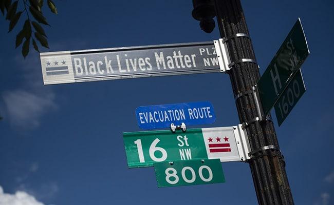Washington Mayor Names Protest Site Near White House As 'Black Lives Matter Plaza'