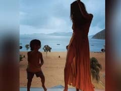 Lisa Haydon Dancing With Tiny Son Zack Is The Cutest Thing You Will See Today