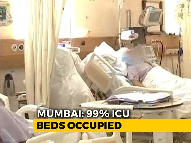 Video : 99% ICU Beds, 94% Ventilators In Use As COVID-19 Cases Spike In Mumbai