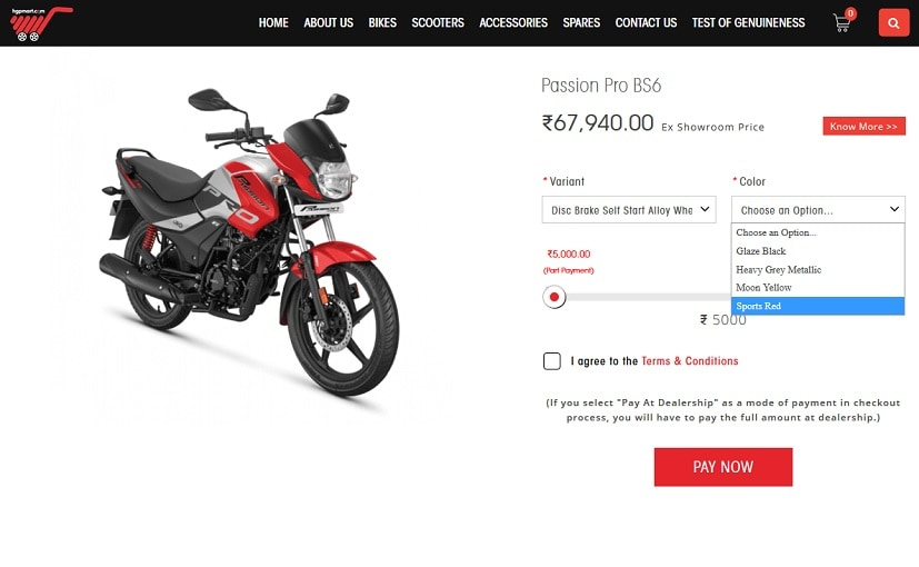 Hero MotoCorp Launches Integrated Online Sales Platform – eShop