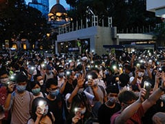 "Hundreds Gather In Hong Kong To Mark One Year Of Pro-Democracy ""Million-People"" March"