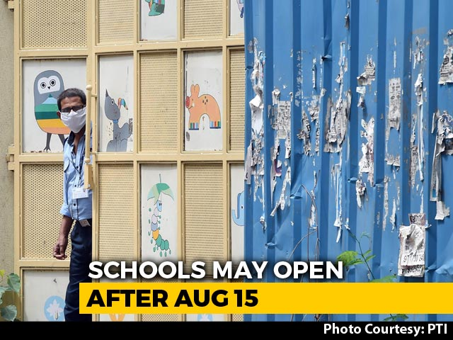Video : Plan To Reopen Schools After August 15: Education Ministry Sources