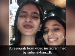 सुहाना खान ने दोस्त अनन्या पांडे के लिए गाया 'धीमे धीमे' सॉन्ग, शाहरुख खान की बेटी का Video हुआ वायरल