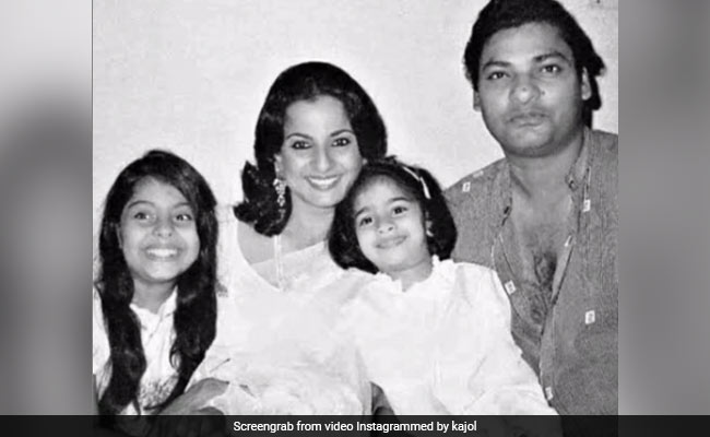 Here's How Kajol Remembered Her Father Shomu Mukherjee On His Birth Anniversary