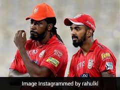"""If Rashid Comes On, Im Gonna Finish Him"": Gayle To Rahul In IPL 2018"