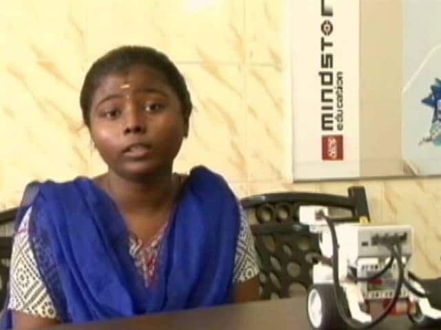 Video: Scrap Collector's Daughter Wins Global Robotic Competition