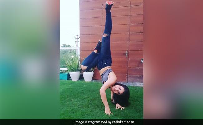 Radhika Madan Explains Handstand Pic With ROFL Caption