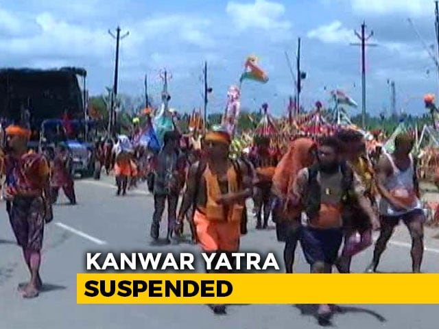 Video : No Kanwar <i>Yatra</i> This Year Due To COVID-19 Threat, Says UP