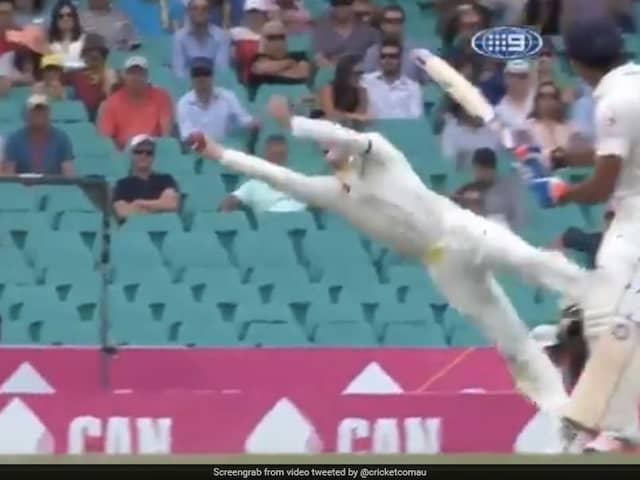 "Cricket Australia Celebrates Steve Smiths 31st Birthday With His ""Finest Catches"". Watch Video"