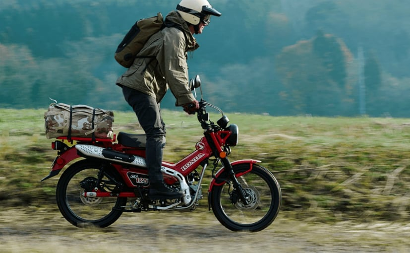 The Honda CT125 Hunter Cub has been launched in Thailand