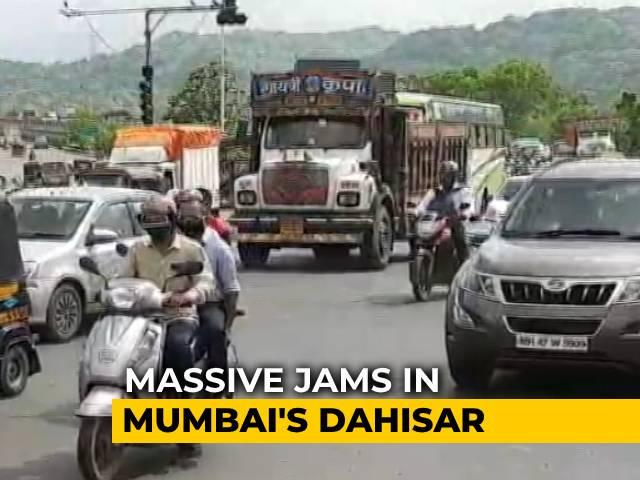 Video: Traffic Jams In Mumbai As Cops Enforce '2-km Rule' In Coronavirus Fight