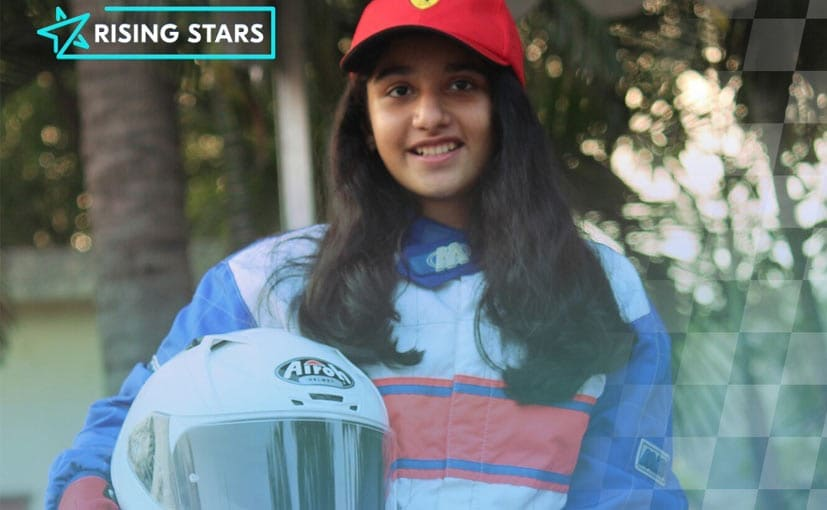 13-year-old Aashi Hanspal is part of the 20 shortlisted racers from 70 countries at Girls on Track