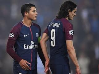Out Of Contract Pair Edinson Cavani, Thiago Silva To Leave PSG