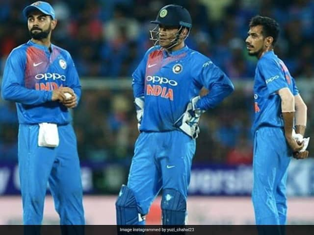 Yuzvendra Chahal Recalls MS Dhonis Words That Helped Him Get The Better Of Glenn Maxwell In 2017