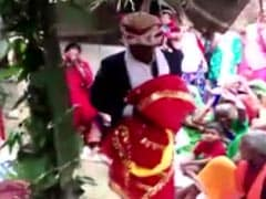 UP Man Marries Wooden Effigy As His 90-Year-Old-Father's Last Wish