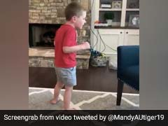 Boy Told He Would Never Walk Takes First Steps Unaided In Moving Video