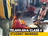 Video : 16-Year-Old Girl Married To 23-Year-Old In Telangana