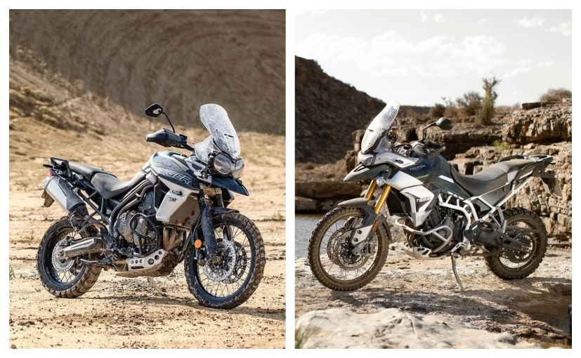 The Triumph Tiger 800 and the Triumph Tiger 900 are as different as chalk and cheese