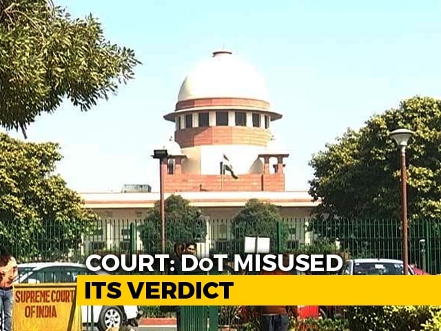 Video : Supreme Court Furious At Government Over Rs 4 Lakh Crore Bill For PSUs