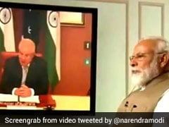"""Modi Hug, Gujarati <i>Khichdi</i>"" In Australian PM's Virtual Meet With PM Modi"