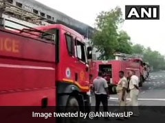 Fire At Warehouse In Greater Noida, None Hurt