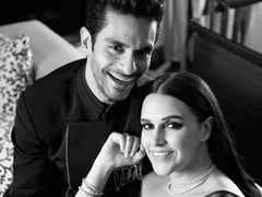"""Angad Bedi Shares ROFL Glimpse Of """"Busy"""" Neha Dhupia Working From Home"""