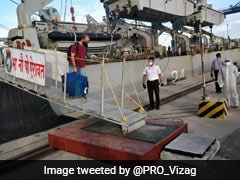 INS Airavat Brings Back Nearly 200 Indians From Maldives To Tamil Nadu