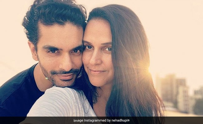 This Is How Neha Dhupia And Husband Angad Bedi Are Lighting Up Instagram