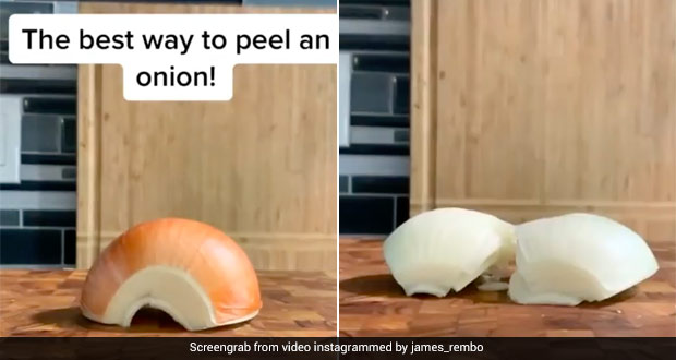 Do You Know This Hack To Peel An Onion Without Hassle? Check Out Viral Video