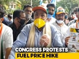 Video : Former Karnataka Chief Minister Siddaramaiah's Cycle Protest Against Fuel Price Hike