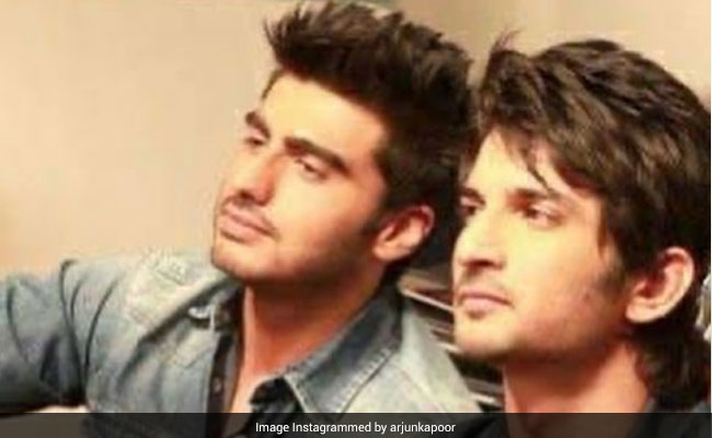 Arjun Kapoor Shares Bittersweet Text Exchange With Sushant Singh Rajput - Their Last