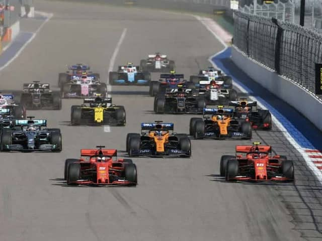 Formula One Releases Schedule For Opening Eight Races In Europe From July 5