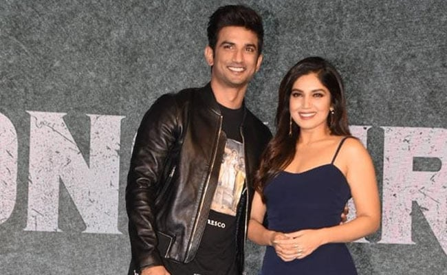 'I'll Spot You Through That Telescope:' Bhumi Pednekar's Emotional Farewell Note To Sushant Singh Rajput