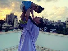The Internet Loves This Pic Of Neha Dhupia And Daughter Mehr