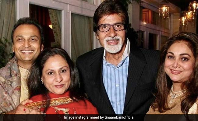 How Tina Ambani Wished Her 'Constants' Amitabh And Jaya Bachchan On Their Wedding Anniversary