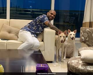 """Shikhar Dhawan Adopts Two """"Cuties"""", Shares Pictures Of """"New Family Members"""""""