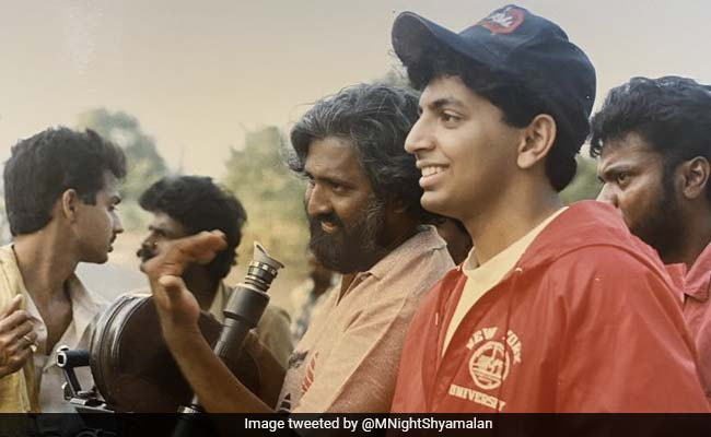 M Night Shyamalan At 21, Making His First Film In Chennai. It Ran For 2 Weeks