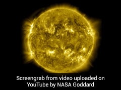 NASA Releases Stunning 10-Year Time-Lapse Of The Sun. Watch