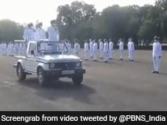 Special Passing Out Parade Held At Naval Air Station In Tami Nadu
