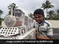 12-Year-Old Kerala Student's Paper Train Model Earns Railway Ministry Praise