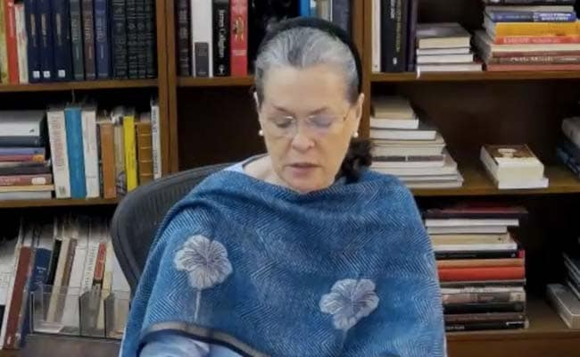 Crisis Along China Border Due To 'Mismanagement Of NDA': Sonia Gandhi