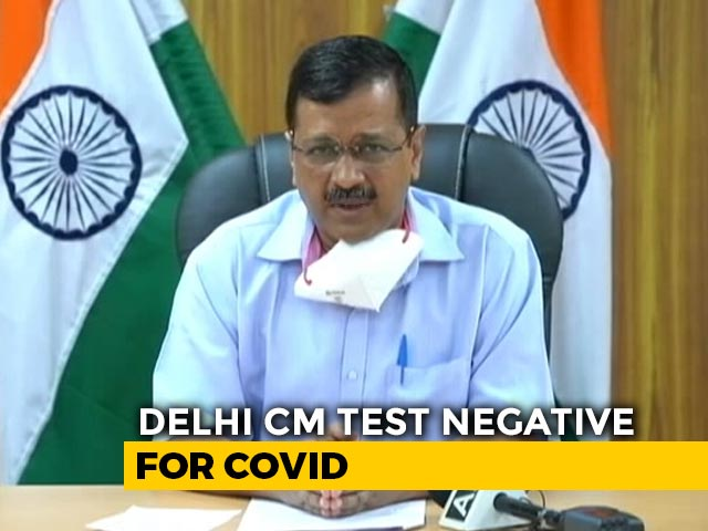 Video : Arvind Kejriwal Does Not Have Coronavirus, Tests Negative