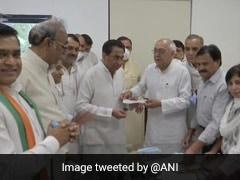 Madhya Pradesh: BJP's Balendu Shukla Joins Congress In Presence Of Kamal Nath