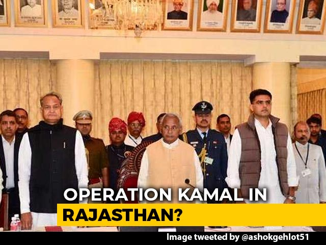 Video : Congress Alleges Political Coup Bid In Rajasthan, Moves MLAs To Resort