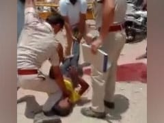 On Camera, Rajasthan Cop Pins Down Man Using Knee In Fight Over Mask