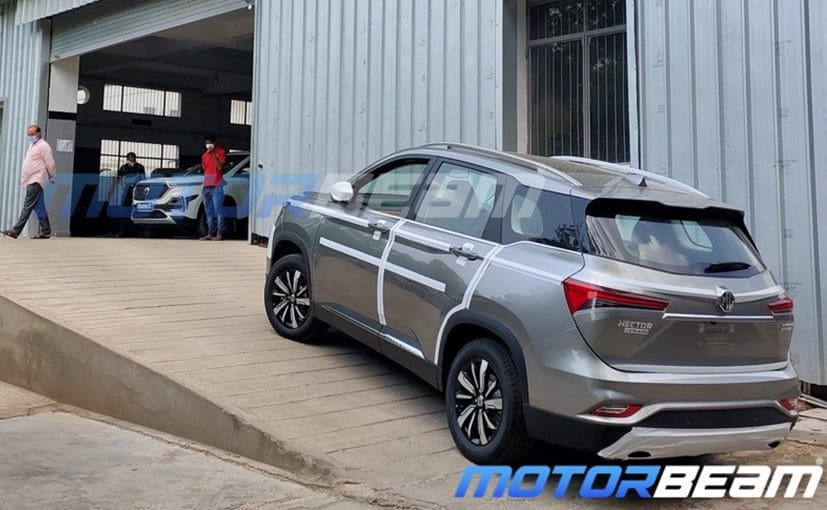 The 3-row MG Hector Plus made its debut at the Auto Expo 2020 and it's expected to be launched in July