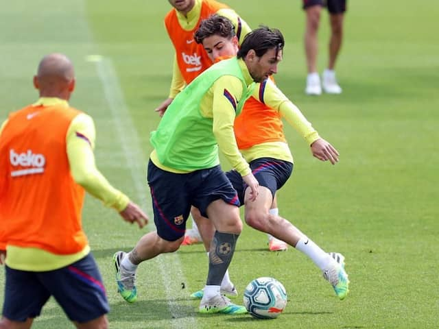 Lionel Messi Fit And Ready For Barcelona Return, Says Coach Quique Setien