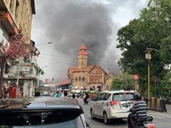 मुंबई के क्रॉफोर्ड मार्केट में भीषण आग, दमकल की कई गाड़ियां मौके पर पहुंची